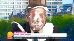 Piers Morgan gets pie thrown in face